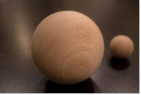 木製ボール