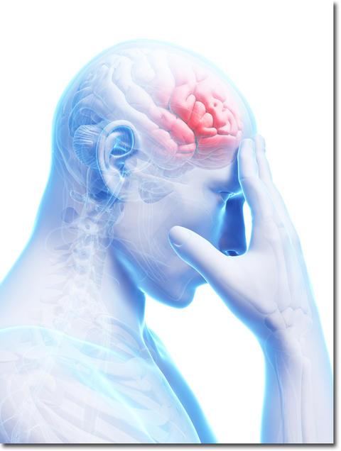 CS60で脳梗塞の後遺症が改善