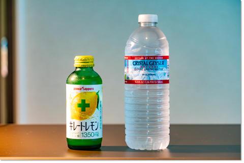 施術と飲水